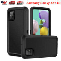 For Samsung Galaxy A51 4G Heavy Duty Hybrid Shockproof Defender Armor Case Cover