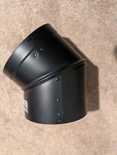 """Duravent Dvl Double Wall- 6"""" Wood Stove Pipe- 45 Degree Elbow #6Dvl-E45"""