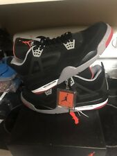 Jordan IV 4 Bred 2012 Size 13 Black Red 308497 089 Retro OG Cement Xi 1 Xii iii