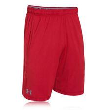 Pantalones cortos de deporte de hombre rojo