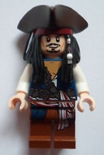 Lego Pirates of the Caribbean Captain Jack Sparrow poc024 From 30133 Minifig New