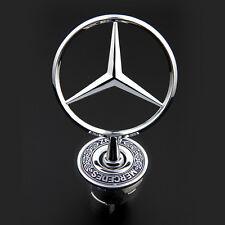 3D Zinc Alloy Car Frond Hood Ornament Emblem for Mercedes Benz C E S W Series