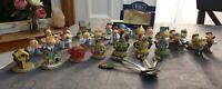 Vintage Tetley Tea Collection - Figures Houses Teapots Spoon Car - VGC