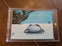 Pirates of the Caribbean Jack Hai Artist Sketch Card Jack Sparrow
