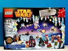 LEGO STAR WARS 2014 Advent Calendar 75056 Santa Darth Vader Claus NEW SEALED