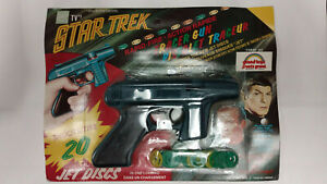 NBC TV's STAR TREK TRACER GUN - Factory sealed                      / Grand Toys