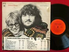 DELANEY & BONNIE ~ D & B TOGETHER LP PROMO (1972) COLUMBIA 31377 CLASSIC ROCK
