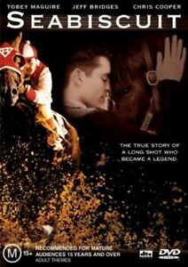 SEABISCUIT starring Tobey Maguire (DVD, 2004)