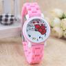 Hello Kitty Quartz Watches Cartoon Students High Quality Wristwatches-FREE SHIP