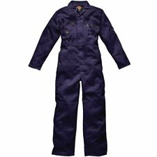 """DICKIES WD4839 36R Size 90cm """"Redhawk"""" Overall with Zip Front, Navy 36R"""