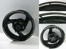 Hinterrad Felge Rad hinten Rear Wheel Rim schwarz weiß Yamaha XJR 1200, 95-98