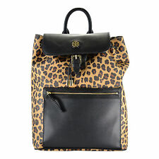 NWT Tory Burch Kerrington Leopard Animal Print Flap Backpack SOLD OUT!