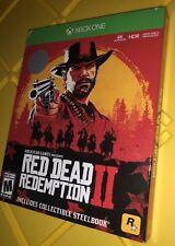 Brand New Red Dead Redemption 2 Steelbook Edition, Rockstar Games, Xbox One