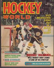 1973 Hockey World Magazine March Ex 19176 Bobby Orr