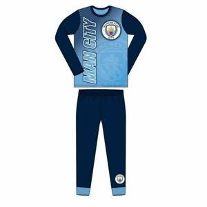 Boys Pyjamas Manchester City Pjs Football Official Age 4 5 6 7 8 9 10 11 12 Year