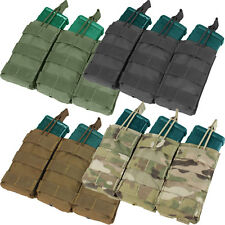 Condor MA27 Triple 5.56/.223 Tactical MOLLE PALS Bungee Open-Top Magazine Pouch