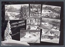 BOLZANO BOZEN MAREBBE 11 ENNEBERG SAN VIGILIO ST. VIGIL Cartolina FOT viagg 1972