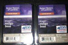 2  BETTER HOMES & GARDENS Wax Melts STORMY INDIGO SEAS 2.5 Oz Each