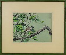 James March Phillips (American,1913-1981) Original Watercolor Signed