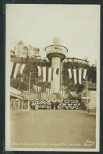 OR Oregon City RPPC 1955 NEW MUNICIPAL ELEVATOR with BUNTING & RR DEPOT Smith