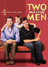NEW! Two and a Half Men - The Complete First Season (DVD, 2007, 4-Disc Set)