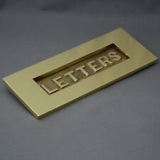 cuivre 'Lettres' Boîte aux lettres