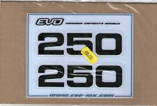 YZ250 YZ 250 1979-1985 cc side panel decals
