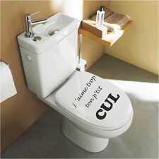 Sticker WC Abattant de Toilette wc04