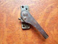 Antique Craftsman Iron & Brass Casement Window Lock  c1900