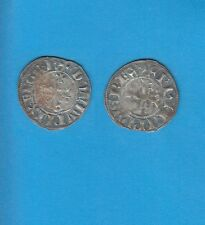 PHILIPPE IV Le Bel (1285-1314) Double Tournois billon Lot P PORT GRATUIT FRANCE