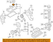 VW VOLKSWAGEN OEM 04-06 Beetle Engine Parts-Valve Cover Seal 038133287C