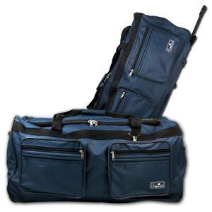XXL 160L Trolleytasche Reisetasche 2 Rollen Trolley Tasche Koffer Sporttasche