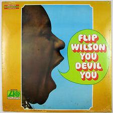 FLIP WILSON You Devil You LP 1968 COMEDY (STILL SEALED/UNPLAYED)