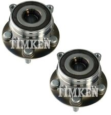 Pair Set of 2 Front Timken Wheel Bearing and Hub Assies Kit for Lexus Toyota FWD