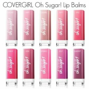 CoverGirl Oh Sugar! Vitamin Infused Lip Balm Gloss CHOOSE YOUR SHADE New