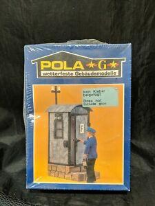 NEW Vintage Pola LGB 916 Track-Side Telephone Hut