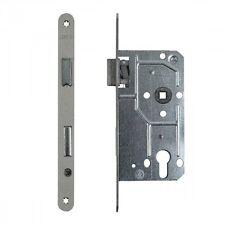 ToniTec® Zimmertür Einsteckschloss 72mm Dornmaß 55 mm BB PZ WC/Bad 20mm Stulp