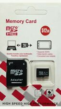 512GB Class 10 MicroSD SDHC Card with SD Adapter