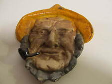 Vintage Cast Metal Sea Captain Change Coin Trinket Dish.