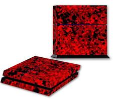 DIGI CAMO PS4 Skin Vinyl Decal PlayStation 4 Console Sticker Red Camouflage 172
