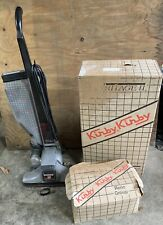 vintage kirby heritage ll legend vacuum cleaner 2-hd upright sweeper W/ Misc
