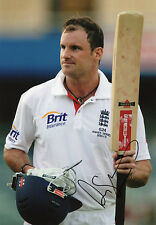 Andrew Strauss, England cricket team, Ashes, signed 12x8 photo. COA. Proof.