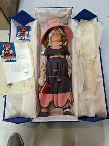 "Vintage Lenci Melania Doll 27"" in Case"