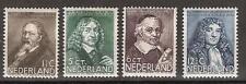 NVPH 296-299 Netherlands Nederland 296 297 298 299 MLH ong. 1937 zomerzegels