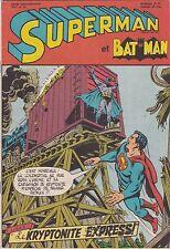 1971 DC Interpresse Comics Superman & Batman Comic Book #41 French and Belgium