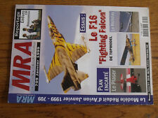 17$$ Revue MRA n°709 Plan encarté Le Plaser / Holiday / Fieseler Storch / F16