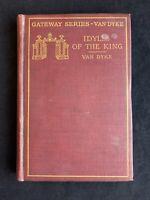 Vintage 1904 Tennyson's Idylls of the King