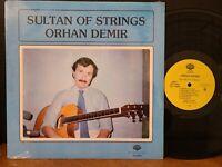 ORHAN DEMIR - SULTAN OF STRINGS Vinyl LP 1990 Canadian Import Guitar VG+!