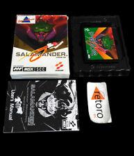 SALAMANDER MSX MSX2 MegaRom RC-758 European Konami Complete