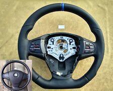 BMW X3 F25 X4 F26 X5 F15 X6 F16 NEW NAPPA ERGONOMIC INLAYS STEERING WHEEL FLAT b